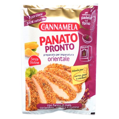 Cannamela Breaded Oriental Taste 80g