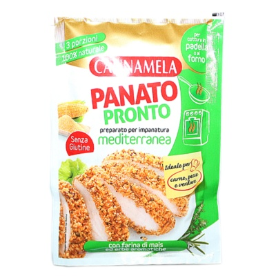 Cannamela Breaded Meditteranean Taste 80g