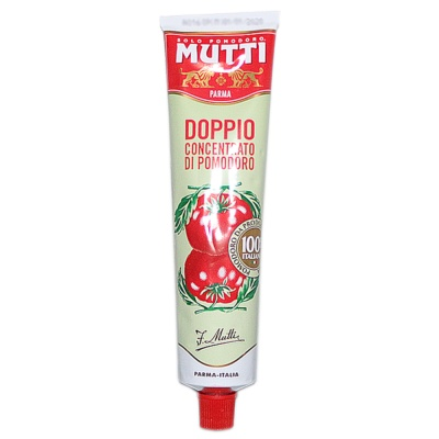 Mutti Doulbe Concentrated Tomato Paste 130g