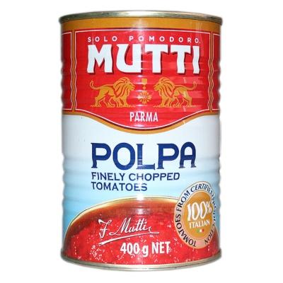 Mutti Finely Chopped Tomatoes 400g