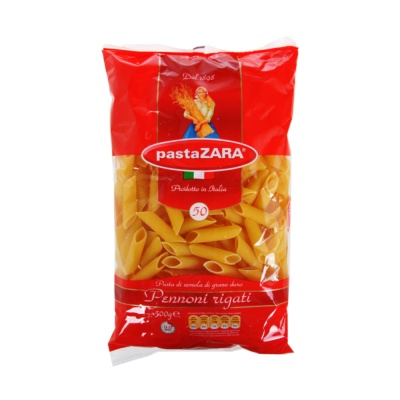 Pasta Zara Pennoni Rigati 50 500g