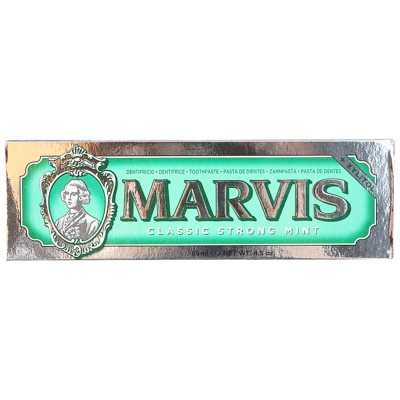 Marvis Toothpaste (Classic Strong Mint) 85ml