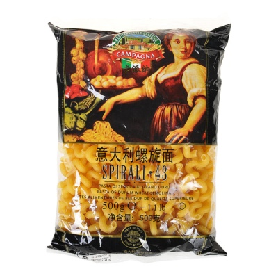 Campagna Spirali 43#Traditional Home Style Pasta 500g
