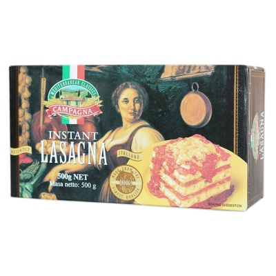Campagna Instant Lasagna 500g