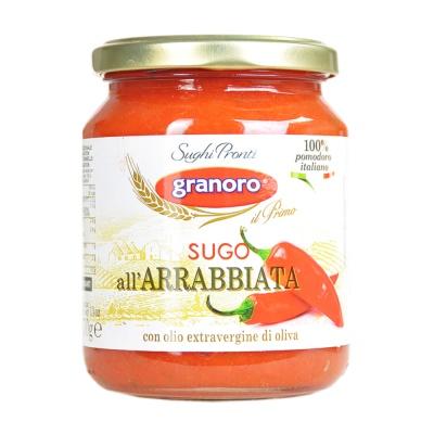 Granoro Spicy Tomato Pasta Sauce 370g