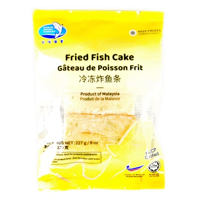 North Shore Fishery Fried Fish Cake 227g
