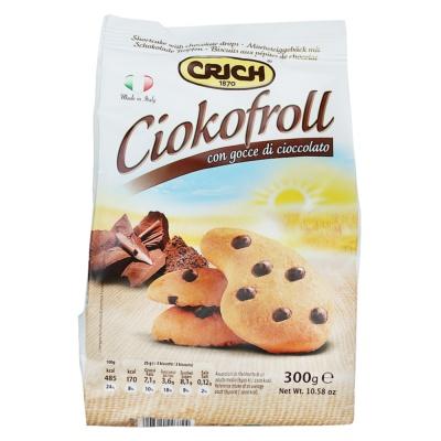 Crich Ciokofroll Shortcake Choco Drops 300g