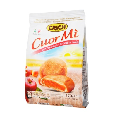 Crich Apple Jam and Pieces Cookies 270g