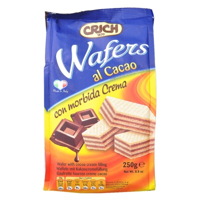 Crich Wafers with Cocoa Cream 250g