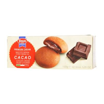 Tonon Cacao Cream Filled Cookies 150g