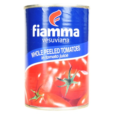 Fiamma Vesuviana Whole Peeled Tomatoes 400g
