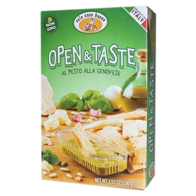 Solo Cose Buone Spizzata With Olive Oil(Pesto Alla Genovese Sauce) 100g