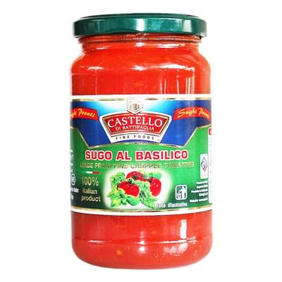 Castello Basil Flavor Tomato Sauce 350g