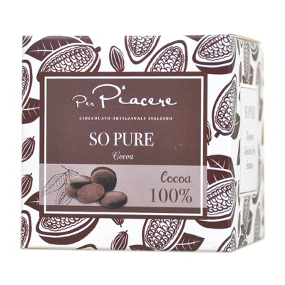 Per Piacere 100% Dark Chocolate 100g