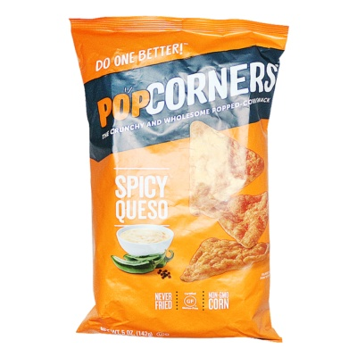 Popcorners Spicy Queso Popped Corn Chips 142g