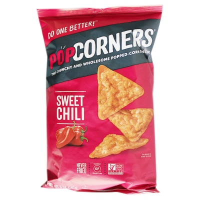 Popcorners Sweet Chili Popped Corn Chips 142g