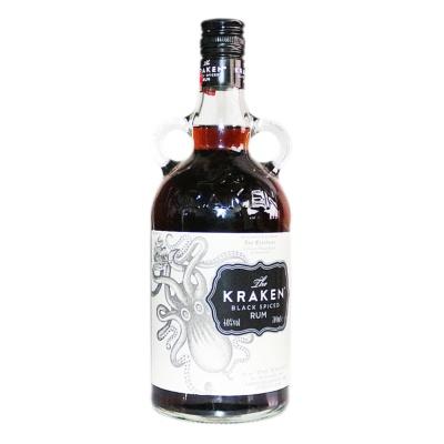 北海巨妖加香黑朗姆酒(配制酒) 700ml