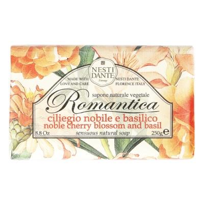 Nesti Dante Cherry Blossom & Basil Soap 250g