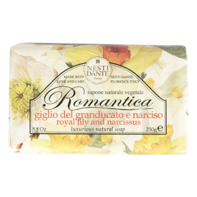 Nesti Dante Royal Lily And Narcissus Luxurious Naturnal Soap 250g