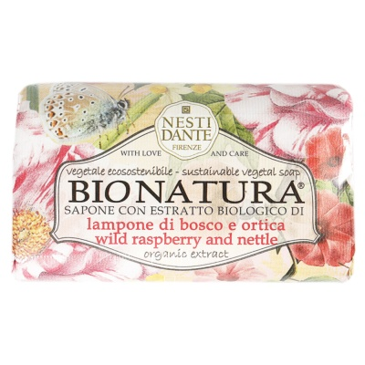 Nesti Dante Wild Raspberry And Nettle Bath Soap 250g