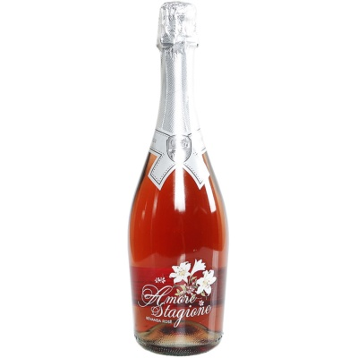 Amore Stagione Sparkling Low Alcohol Rose Doice 750ml