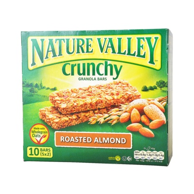 Nature Valley granola roasted almond bars 210g