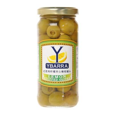 亿芭利柠檬夹心橄榄罐头 240g