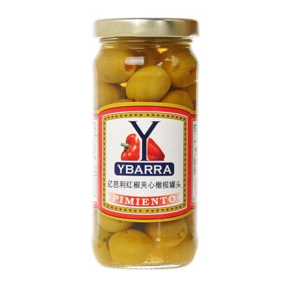 亿芭利红椒夹心橄榄罐头 240g