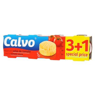 Calvo Tuna Tomato Sauce 4*80g