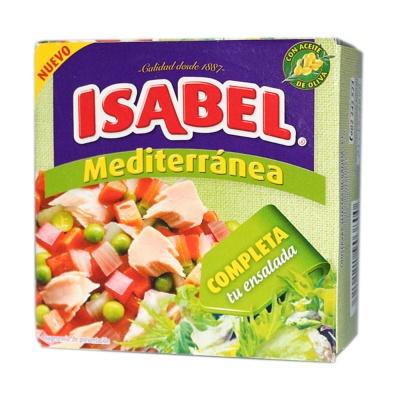 伊莎贝尔金枪鱼混合蔬菜罐头(地中海风味) 150g