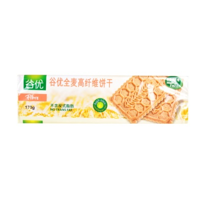 Gullon High Fibre Whole Wheat Biscuits 170g