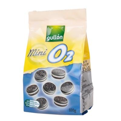 Gullon Mini O2 Cream Choco Biscuits 100g