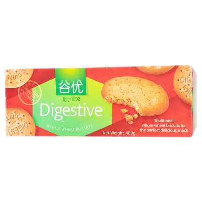 Gullon Digestive Whole Wheat Biscuit 400g