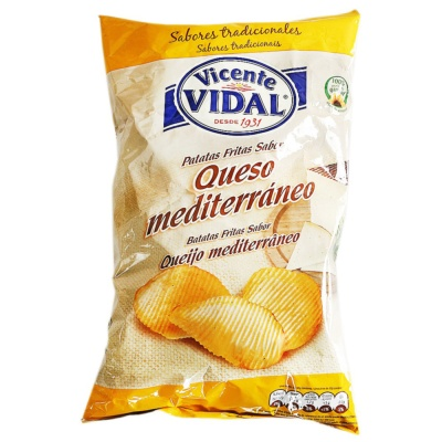 Vidal Cheese Flavor Potato Chips 135g