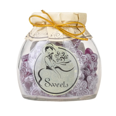 Sasa's Sweetrip 1886 Violet Flavor Fruit Candy 150g