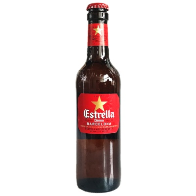 Estrella Damm Barcelona Beer 330ml