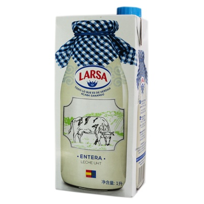 Larsa Whole Uht Milk 1L