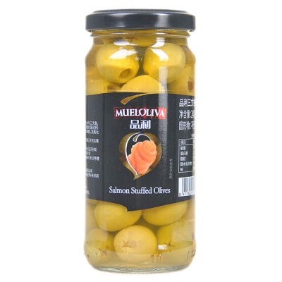 Muelolive Salmon Stuffed Olives 240g