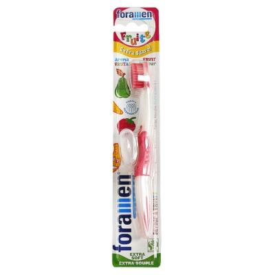 Foramen Fruity Child Super Soft Toothbrush 1p