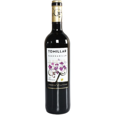 Tomillar Tempranillo Dry Red Wine 750ml