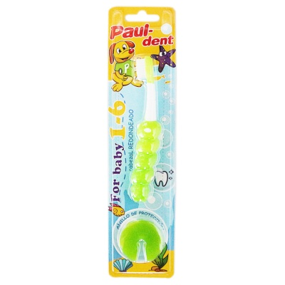 Paul-dent Toothbrush For Kids 1-6 1p