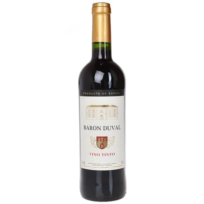 Baron Duval Red Wine 750ml