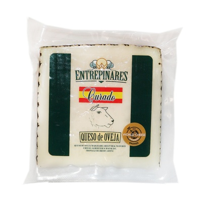Entrepinares Sheep Milk Cheese Cured 150g