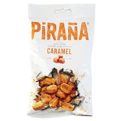 Pirana Caramel Crispy Flavoured Corn 90g