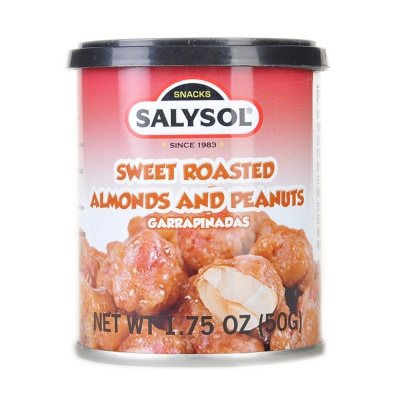Salysol Sweet Roasted Almonds & Peanuts 50g