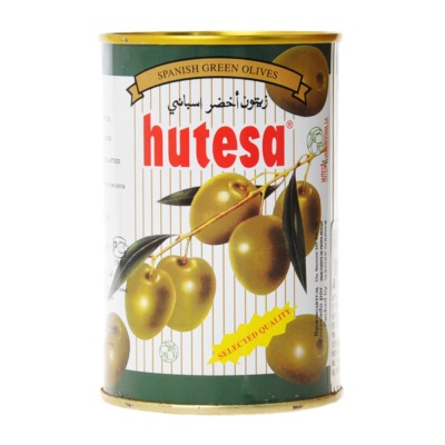 Hutesa Whole Green Olives 420g