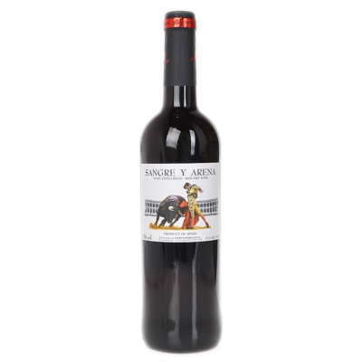 Sangre Y Arena Red Wine 750ml