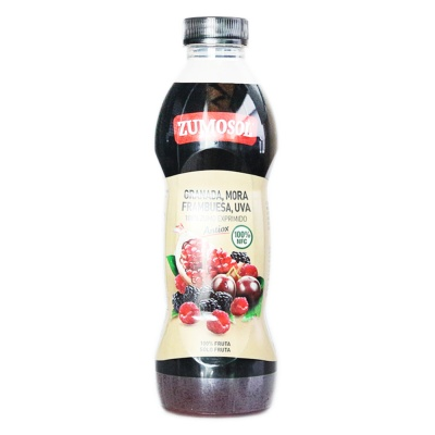 Zumosol grapes,raspberry,blackberry,pomegranate juice 850ml