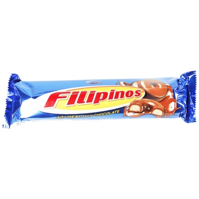 Filipinos 40% Real Milk Chocolate 135g