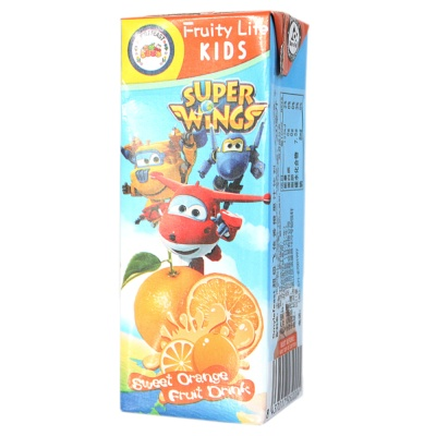 Smylefeast超级飞侠香橙果汁饮料 200ml